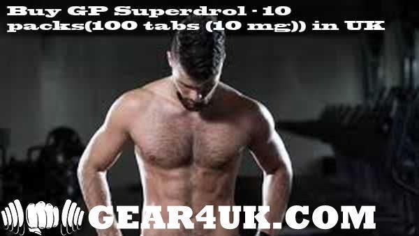 GP Superdrol – 10 packs(100 tabs (10 mg))